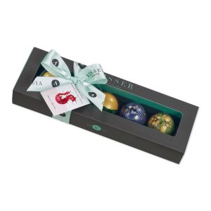 Visser 5 alcoholic Picasso chocolates box
