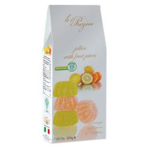 Le Preziose 200g orange lemon jellies carton